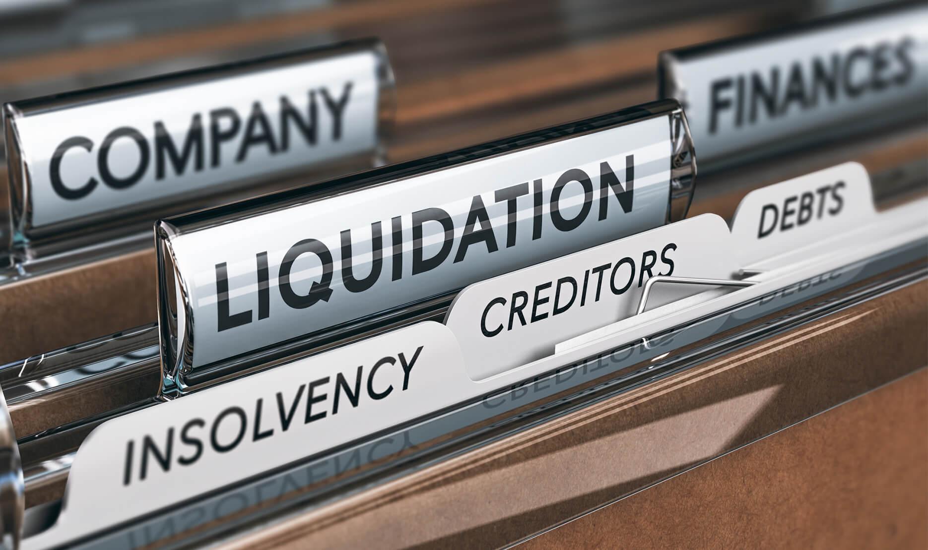 Liquidation Listed On A file